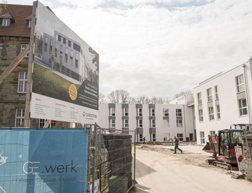 Baufortschritt und Eröffnung